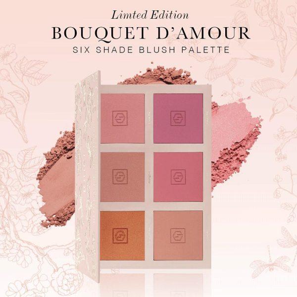 JOUER Bouquet DAmour Blush Palette Promo