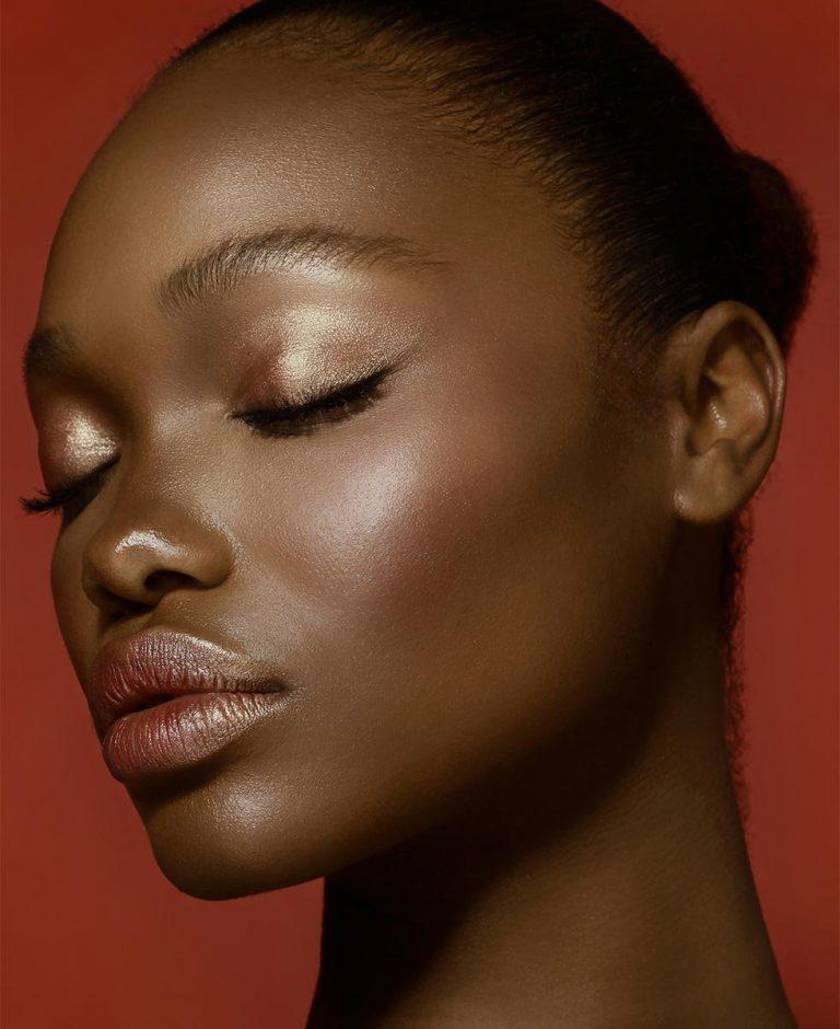 NATASHA DENONA Bloom Blush Glow Palette Model