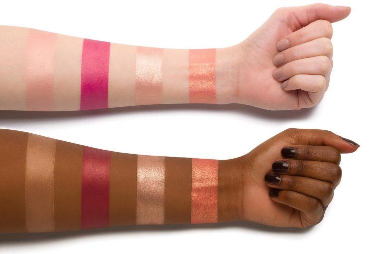 NATASHA DENONA Bloom Blush Glow Palette Swatches