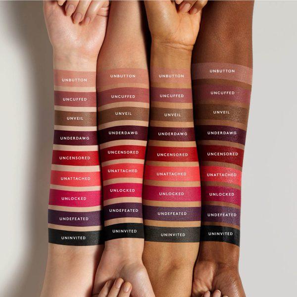 FENTY BEAUTY by Rihanna Stunna Lip Paint Swatches Shades Farben Colors
