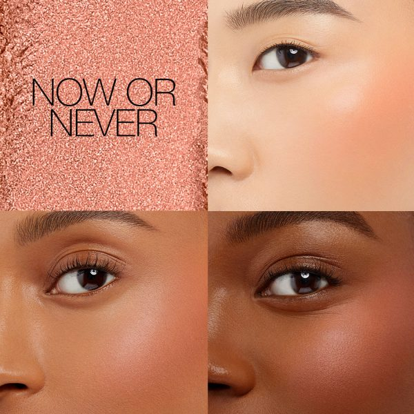 NARS Now or Never Exposed Cheek Palette Swatch