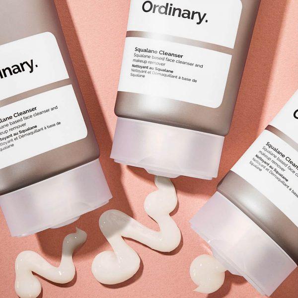 THE ORDINARY Squalane Cleanser Reinigungscreme Cleansing Balm Texture