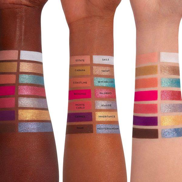 ANASTASIA BEVERLY HILLS Riviera Rivera Eyeshadow Palette Swatches