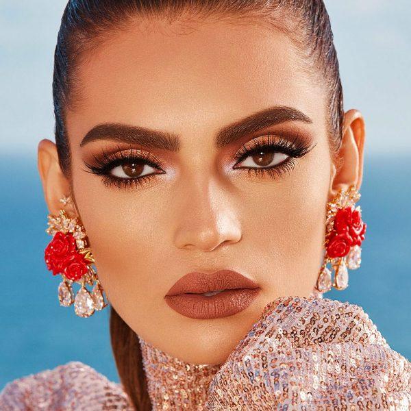 ANASTASIA BEVERLY HILLS Riviera Rivera Eyeshadow Palette Visual Look