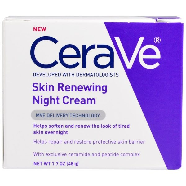 CERAVE Skin Renewing Night Cream Ceramides Nachtcreme Box
