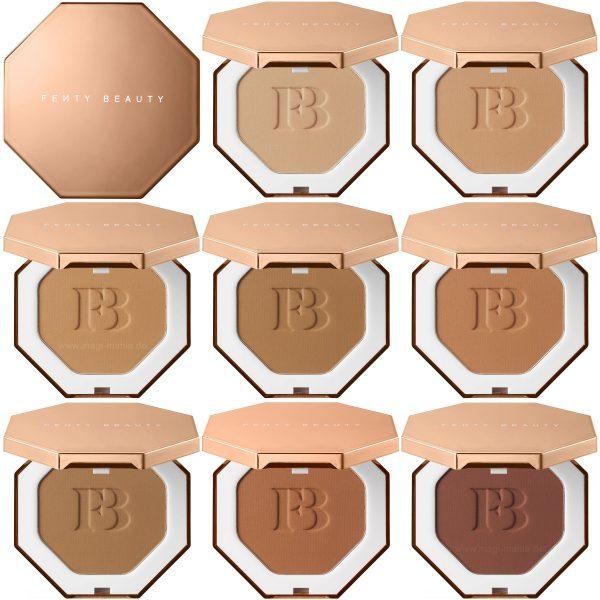 Fenty Beauty by Rihanna SUN STALKR Instant Warmth Bronzer Shades