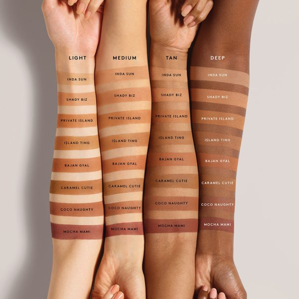 Fenty Beauty by Rihanna SUN STALKR Instant Warmth Bronzer Swatches