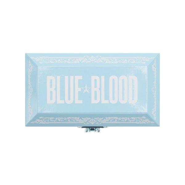 JEFFREE STAR Blue Blood Eyeshadow Palette Packaging