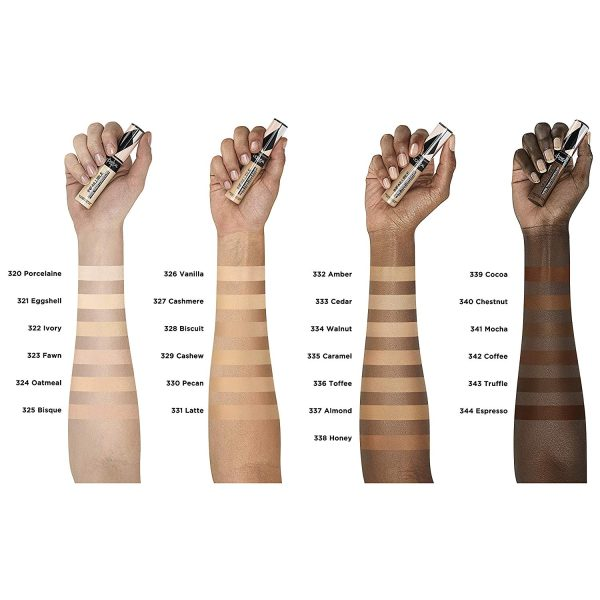 LOREAL PARIS Infaillible More Than Concealer Swatches Colors