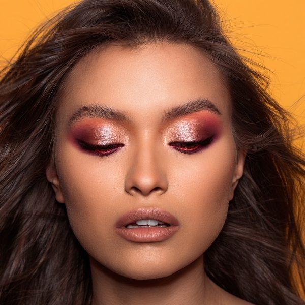 NATASHA DENONA Sunrise Eyeshadow Palette Look