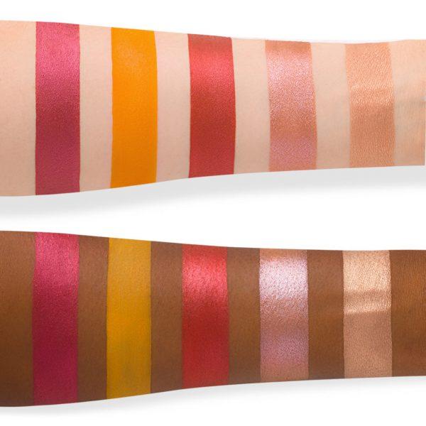 NATASHA DENONA Sunrise Eyeshadow Palette Swatches 1