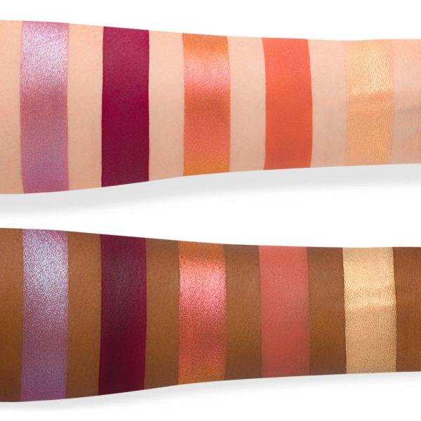 NATASHA DENONA Sunrise Eyeshadow Palette Swatches 2
