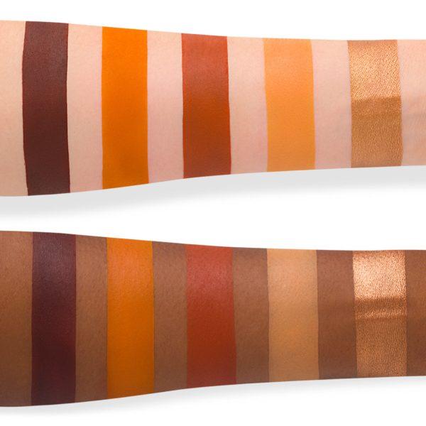 NATASHA DENONA Sunrise Eyeshadow Palette Swatches 3