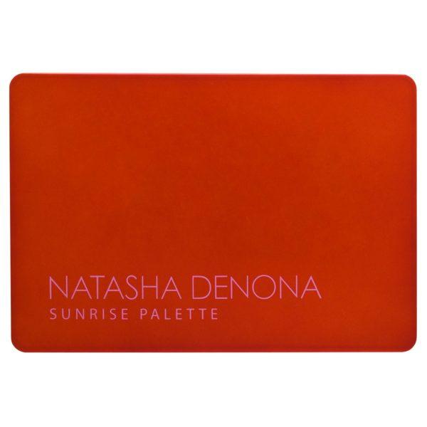 NATASHA DENONA Sunrise Eyeshadow Palette Swatches Packaging