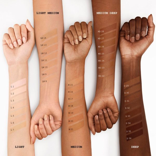PAT McGRATH LABS Skin Fetish Sublime Perfection Foundation Swatches