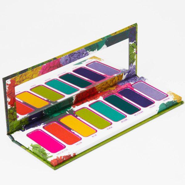 MELT COSMETICS Radioactive Pressed Pigment Palette Detail