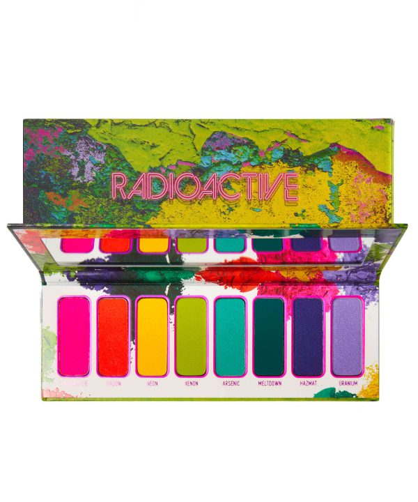 MELT COSMETICS Radioactive Pressed Pigment Palette Packaging
