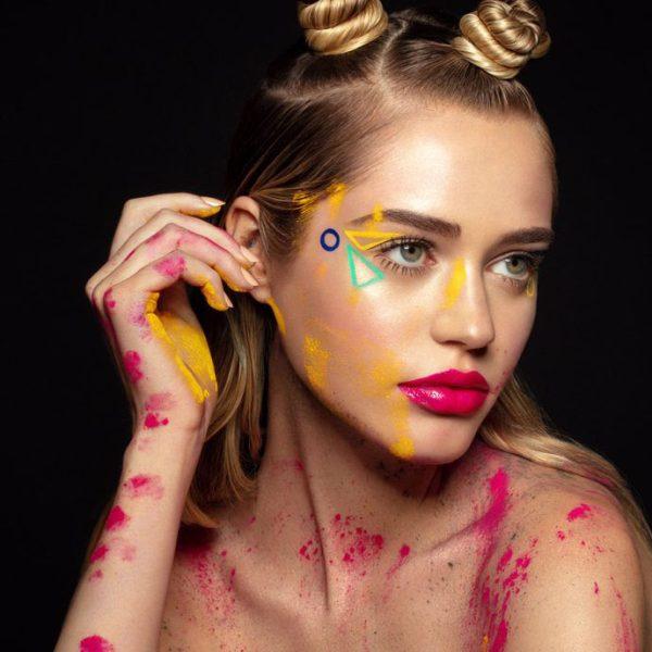 MELT COSMETICS Radioactive Pressed Pigment Palette Promo fair skin