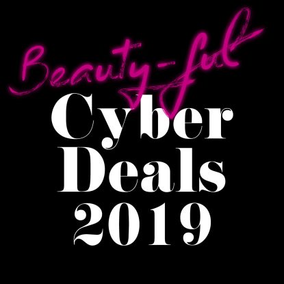 Cyber Week Beauty Deals Black Friday 2019 Fashion Mode Rabattcodes Uebersicht