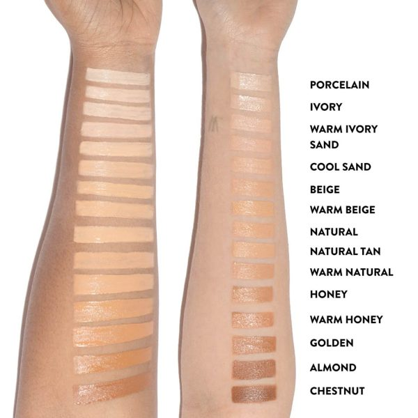 BOBBI BROWN Instant Full Cover Concealer Swatches