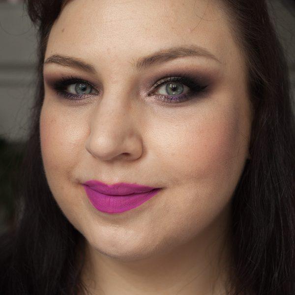 LIME CRIME Dragon Fruit Plushies Soft Matte Liquid Lipstick Face Daylight