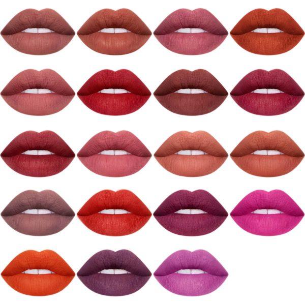 LIME CRIME Plushies Soft Matte Lipstick Shades Colors Farben Nuancen