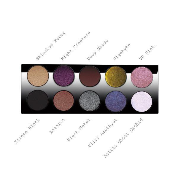 PAT McGRATH LABS Mothership III Subversive Eyeshadow Palette Shades