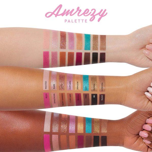 Anastasia Beverly Hills Amrezy Eyeshadow Palette Swatches