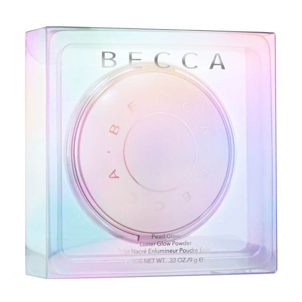 BECCA Pearl Glow Luster Glow Powder Highlighter Packaging