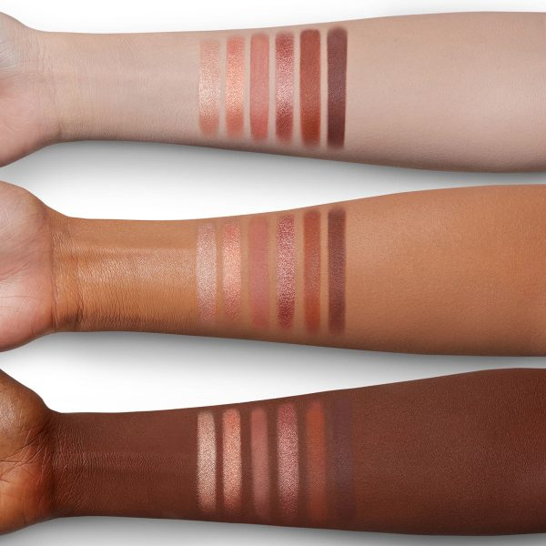 CHARLOTTE TILBURY Easy Eyeshadow Palette Swatches
