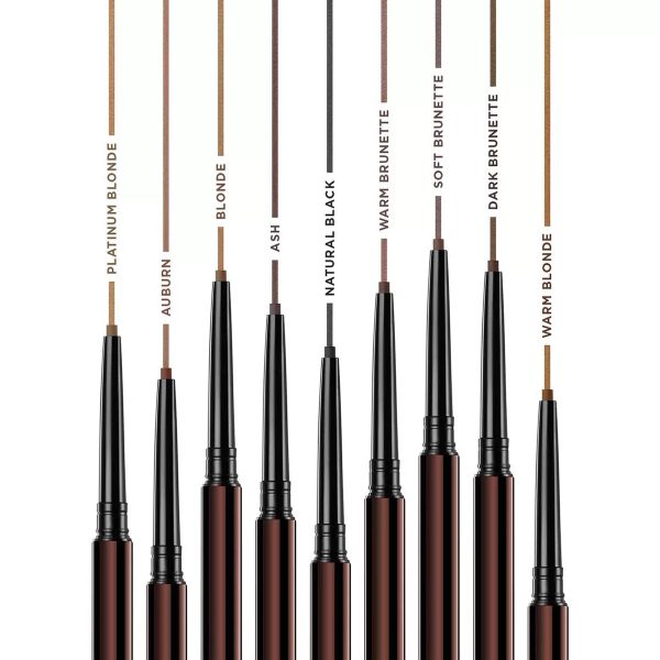 HOURGLASS Arch Brow Micro Sculpting Pencil Shades Colors Nuancen Farbvergleich welche Farbe