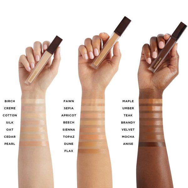 HOURGLASS Vanish Airbrush Concealer Swatches Shades Color Comparison Farbvergleich Nuancen