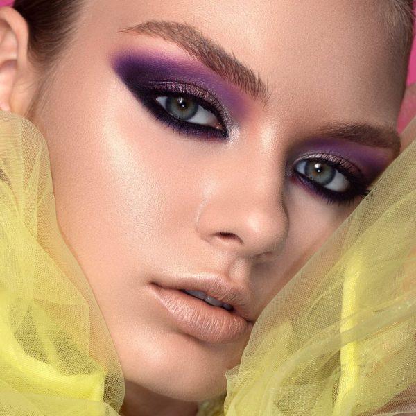 NATASHA DENONA Love Palette Look Purple