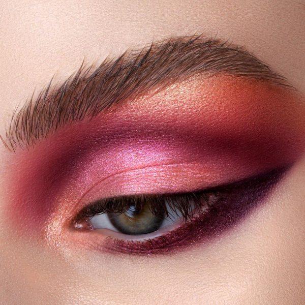 NATASHA DENONA Love Palette rote Lidschatten Makeup Look