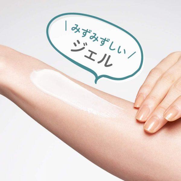 Kanebo ALLIE Extra UV Gel Mineral Moist Sunscreen SPF 50 plus PA++++ Textur