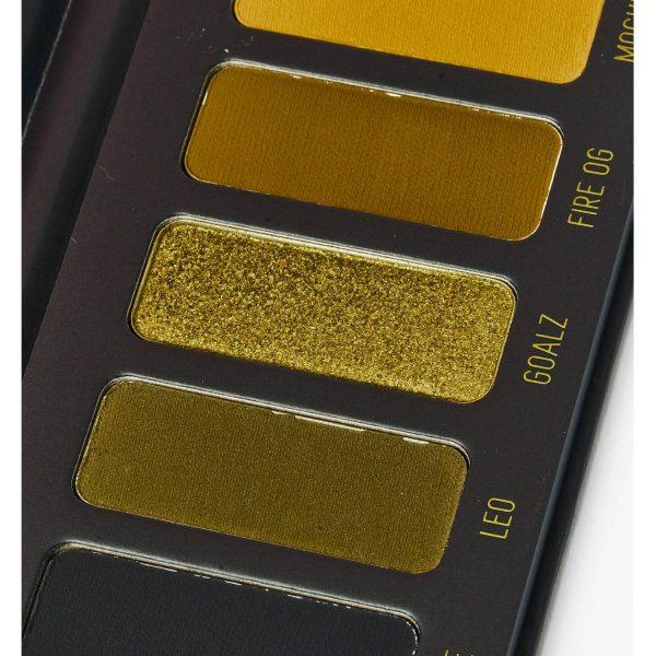 MELT COSMETICS Gemini Eyeshadow Palette Greens Black