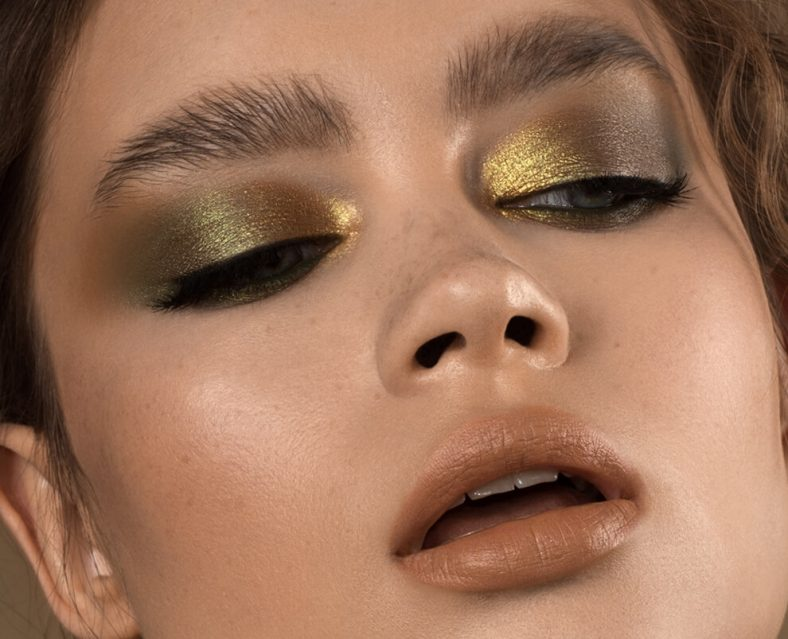 NATASHA DENONA Gold Palette Mini Eyeshadow Look Farben Colors