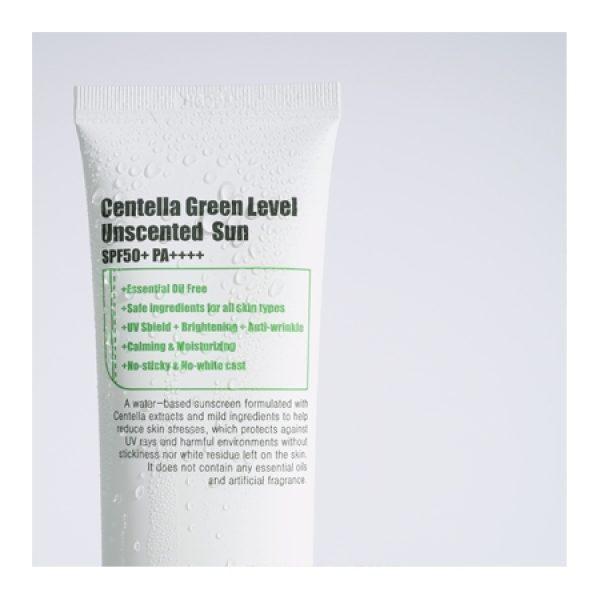 PURITO Centella Green Level Unscented Sun Sonnenschutz SPF50