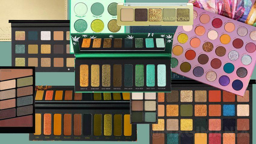 best-green-eyeshadow-palettes-gruen-lidschattenpaletten-smokey-eyes