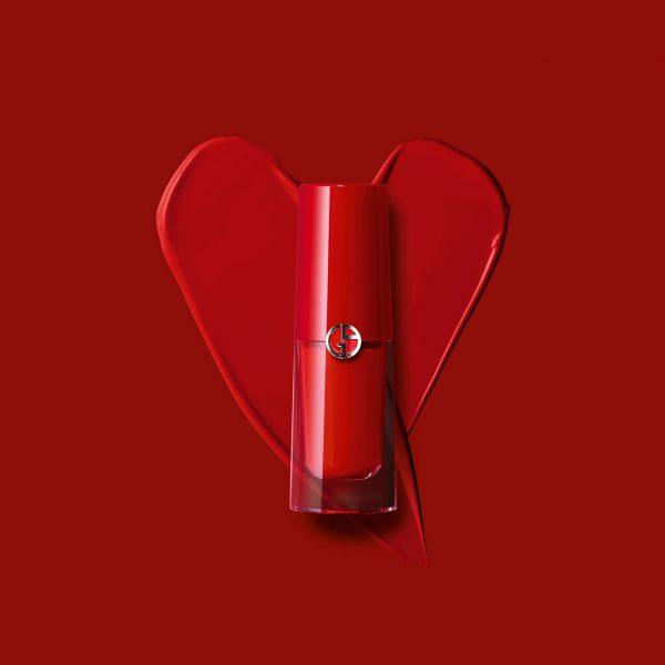 ARMANI Lip Magnet Matte Liquid Lipstick Love Visual