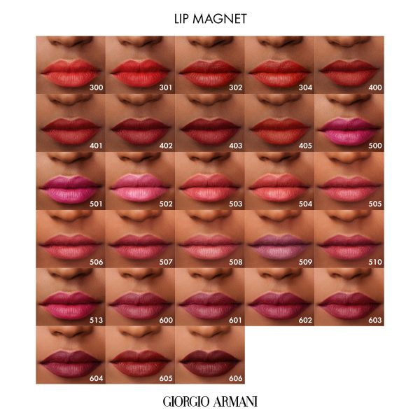 ARMANI Lip Magnet Matte Liquid Lipstick Swatches Lips
