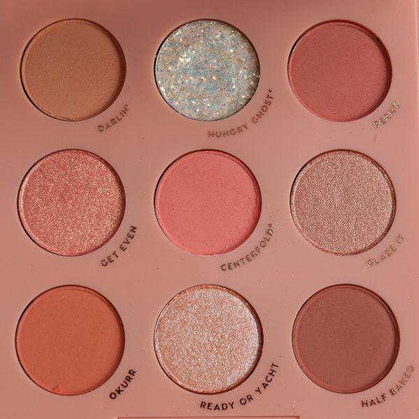 COLOURPOP Baby Got Peach Eyeshadow Palette Farben Colors Shades