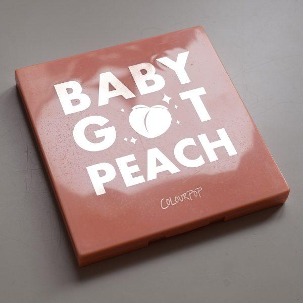 COLOURPOP Baby Got Peach Eyeshadow Palette Packaging