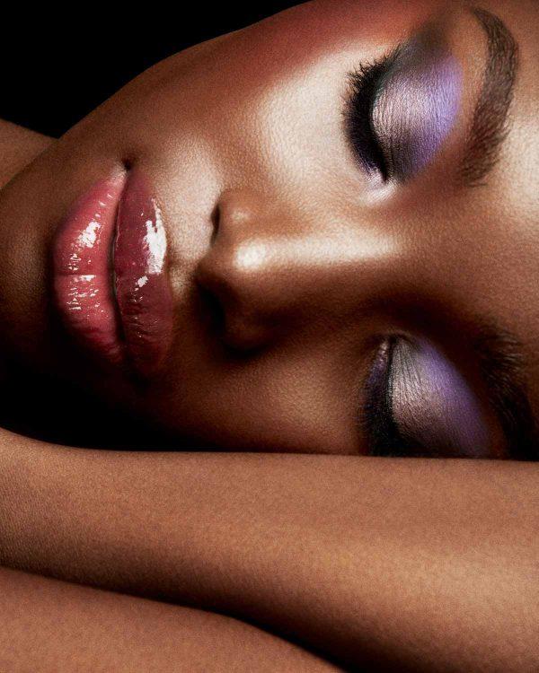 FENTY BEAUTY Cool Neutrals Snap Shadows Makeup Look