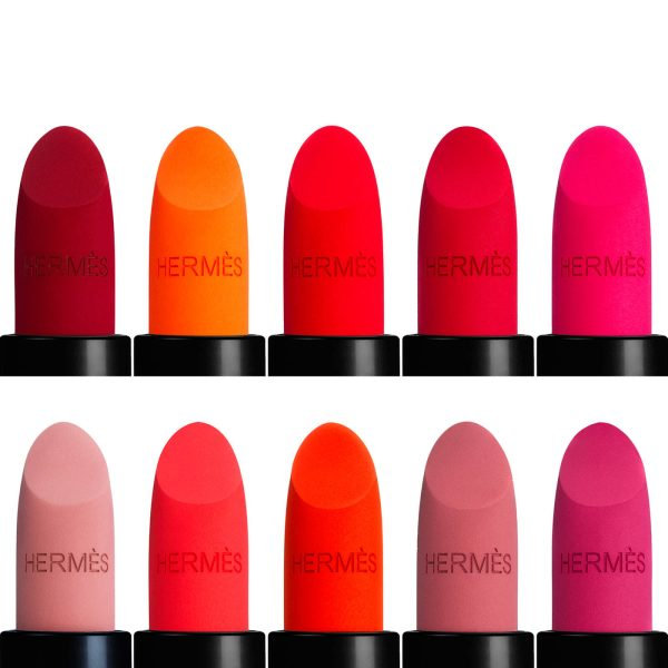 HERMES Rouge HermEs Matte Lipstick Colors Shades Farben welche Farbe