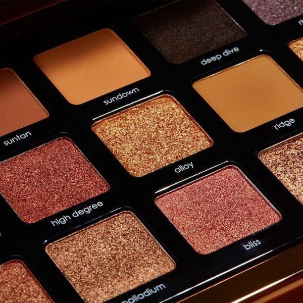 NATASHA DENONA Bronze Eyeshadow Palette Closeup