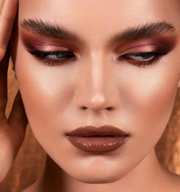 NATASHA DENONA Bronze Eyeshadow Palette Look 4