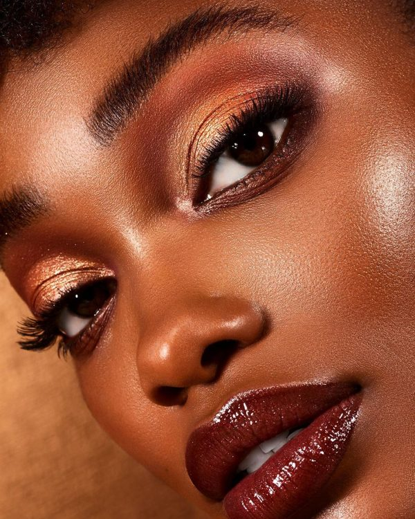 NATASHA DENONA Bronze Eyeshadow Palette Look 5