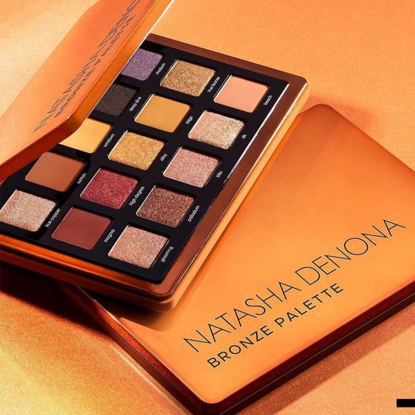 NATASHA DENONA Bronze Eyeshadow Palette Look Ambient Visual