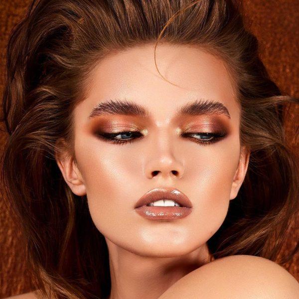 NATASHA DENONA Bronze Eyeshadow Palette Look Glam